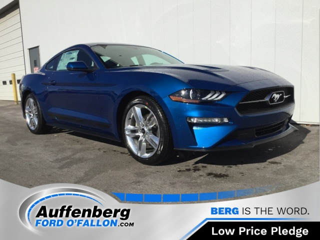 new 2018 ford mustang ecoboost premium 2d coupe near collinsville 87216 auffenberg dealer group. Black Bedroom Furniture Sets. Home Design Ideas